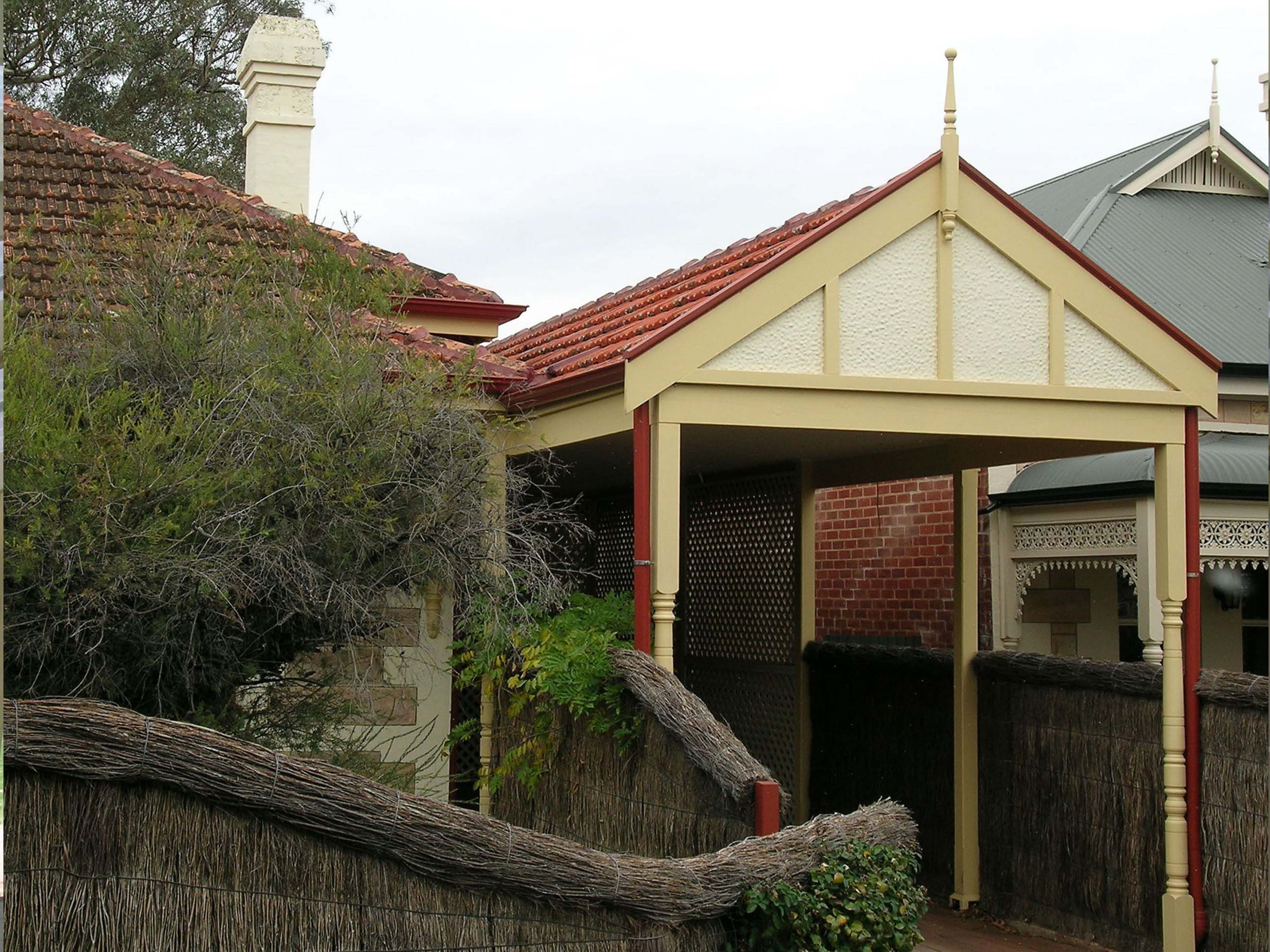 Roofscapes for Gable roof carport
